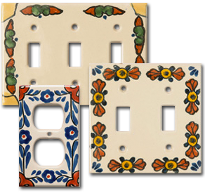Saltillo Tiles Talavera Decorative Tile Fruits Vegetables